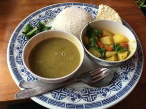 nepalese food, daal bhaat
