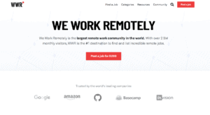 How to make money as a nomad by applying for a job on We Work Remotely