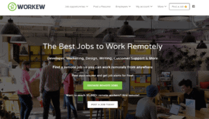 location independent jobs advertised with Workew