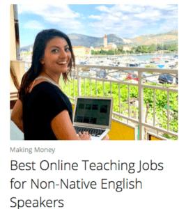 online tutoring jobs for non-native speakers
