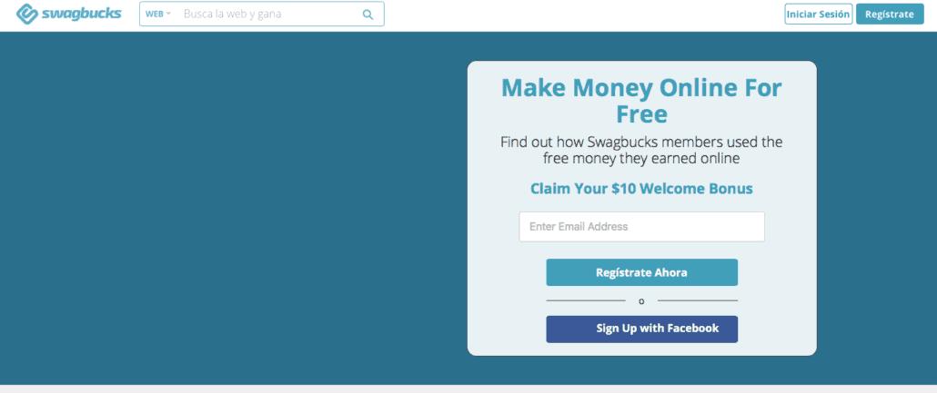 Make money now with Swagbucks
