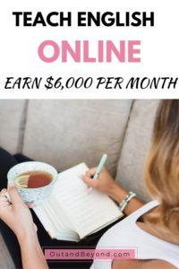 Learn how to become an online English teacher that earn $6,000 per month. Make money from home, teach English online online and teach English online without a degree.