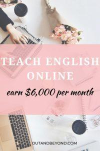 Learn how to become an online English teacher that earn $6,000 per month. Make money from home, teach English online and teach English online without a degree. Make money from home as an online English teacher