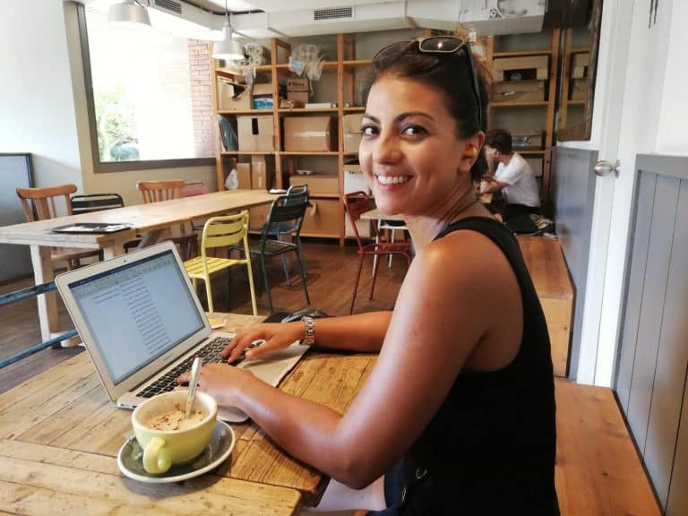 how to become an editor and work from a cafe