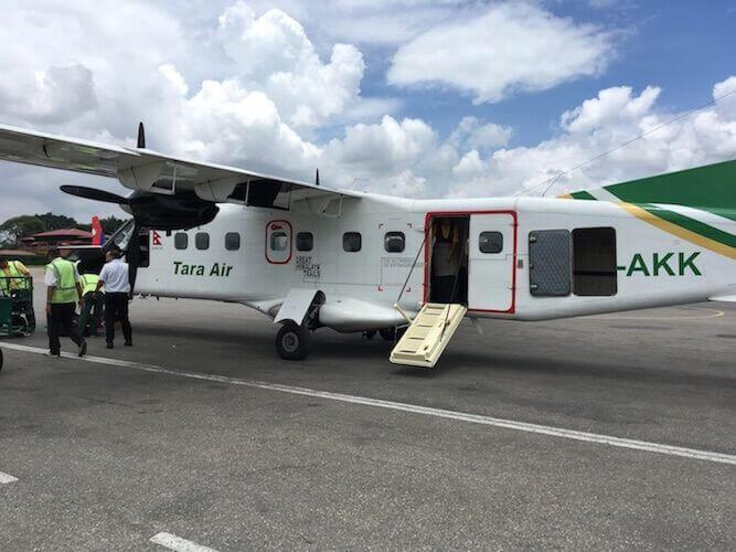 Himalayan plane