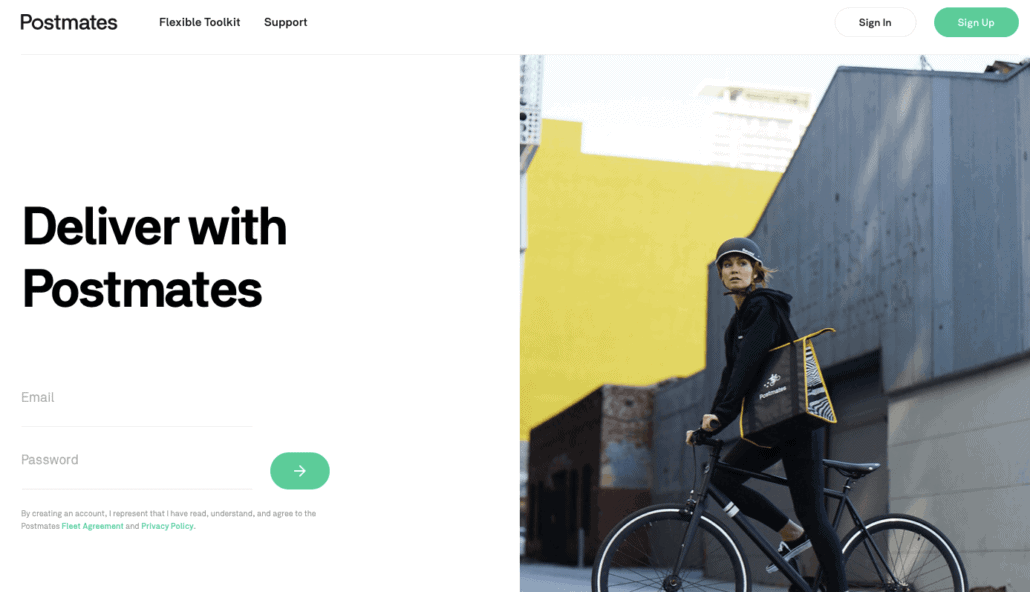 Make money right now with Postmates