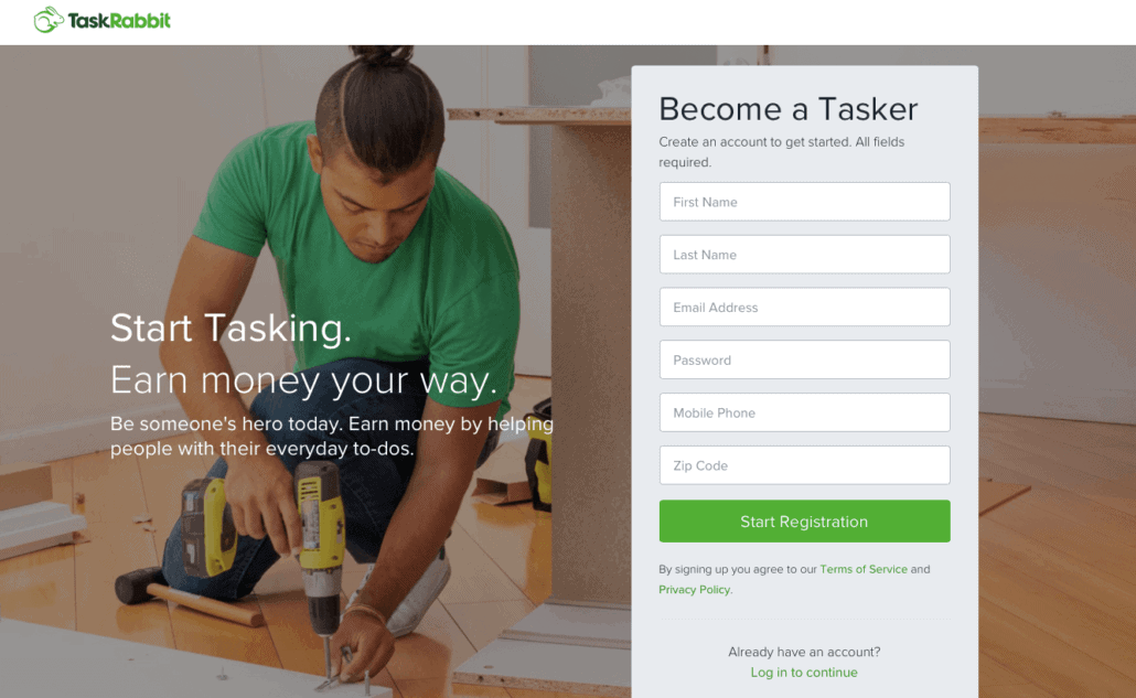 make money now with taskrabbit