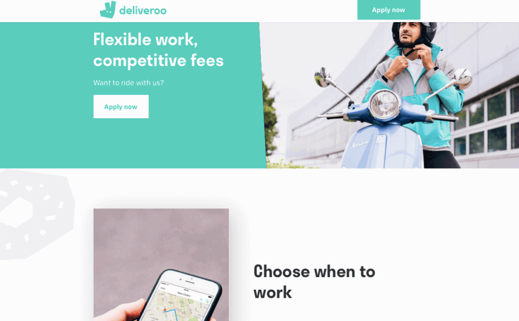 Make money right now with Deliveroo