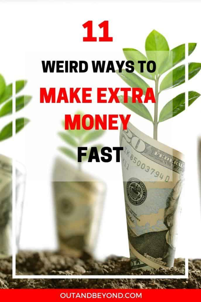 WAYS TO MAKE EXTRA MONEY FAST