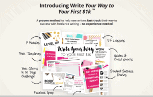 How to become a freelance writer with no experience using elna's course