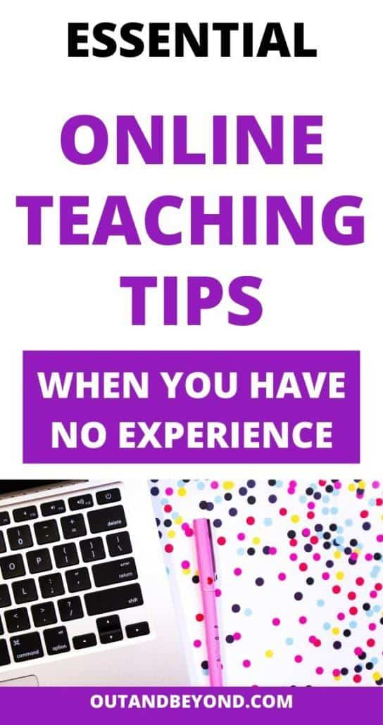 ONLINE TEACHING TIPS NO EXPERIENCE 5