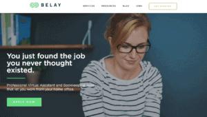 virtual assistant websites like Belay