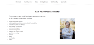 virtual assistant services list