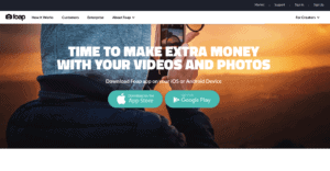 Sell photos online with FOAP
