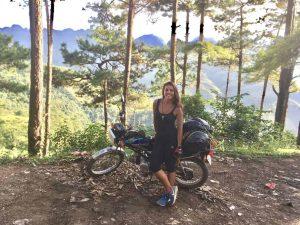 motorbike in Vietnam adventure