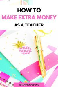 how to make more money as a teacher