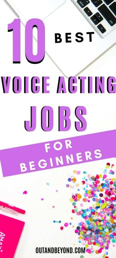 VOICE ACTING JOBS FOR BEGINNERS 1