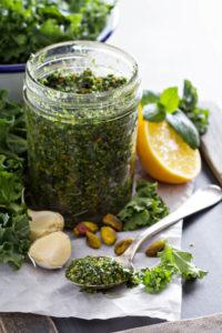 frugal recipe- kale pesto