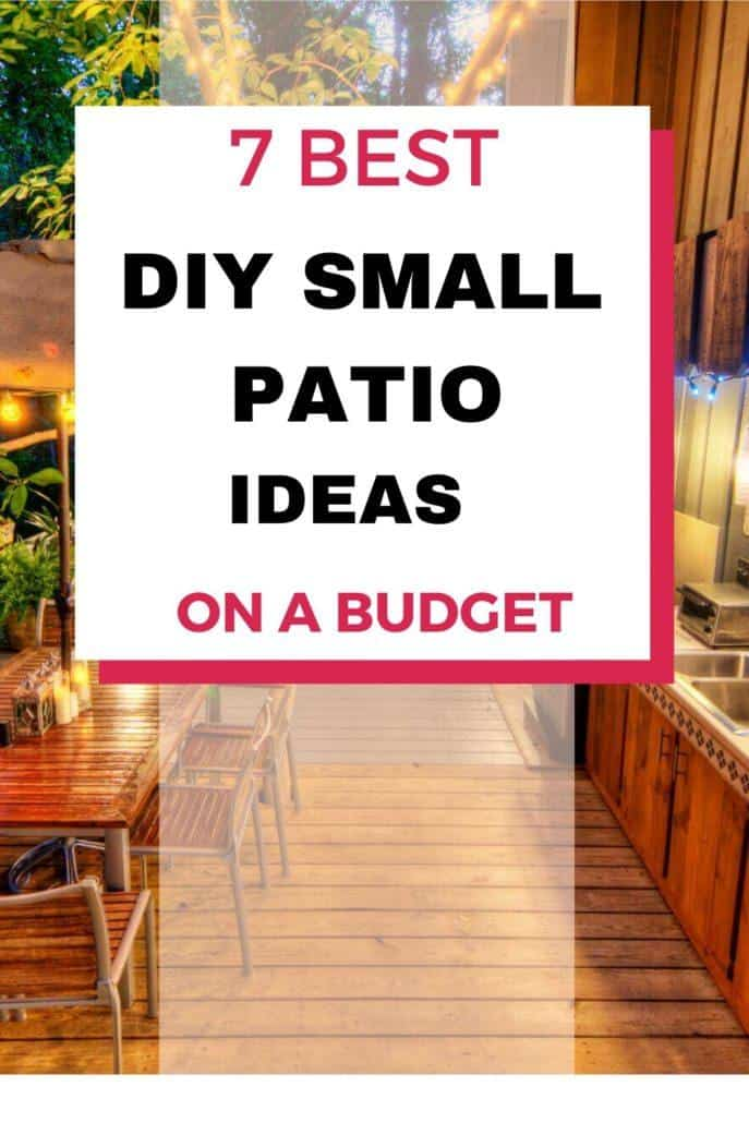 DIY small patio ideas on a budget backyards, DIY small patio ideas on a budget apartment therapy, DIY small patio ideas on a budget seating areas, DIY small patio ideas on a budget side yards, DIY small patio ideas on a budget outdoor living, DIY small patio ideas on a budget design, DIY small patio ideas on a budget spaces, DIY small patio ideas on a budget decks #smallpatioideas #homedecor #diy #diyhomedecor