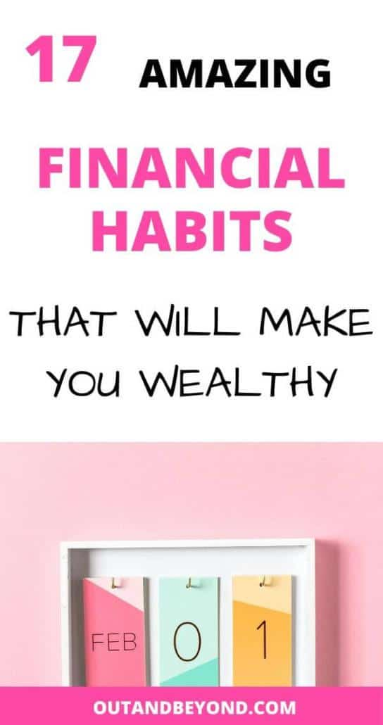Good financial habits of successful and wealthy people.