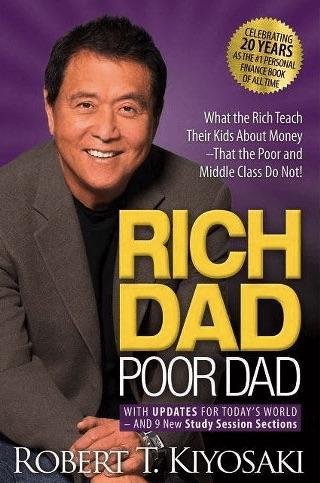 healthy money habits - rich dad poor dad book
