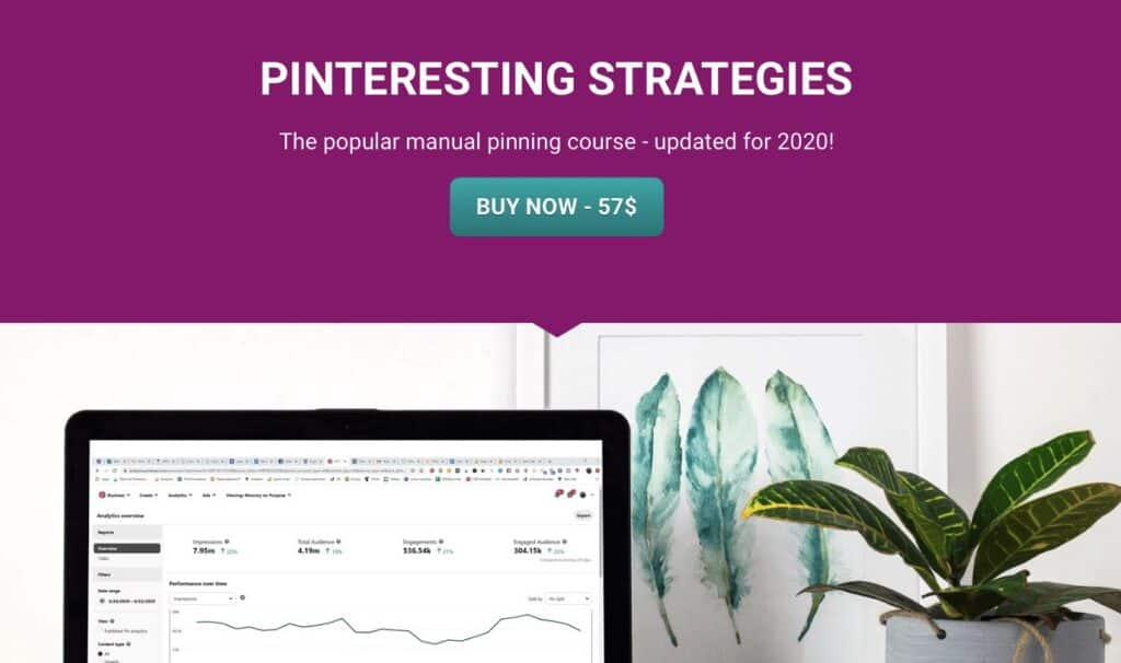 Pinterest Manager training