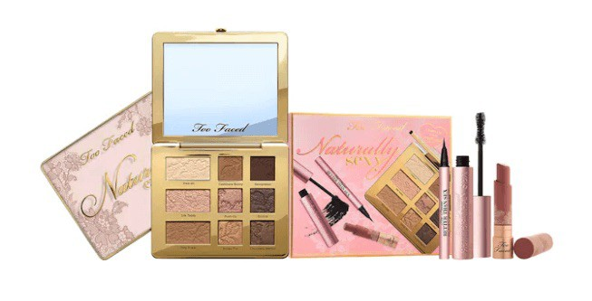 how to become a freelance makeup artist with TOO FACED NATURALLY SEXY