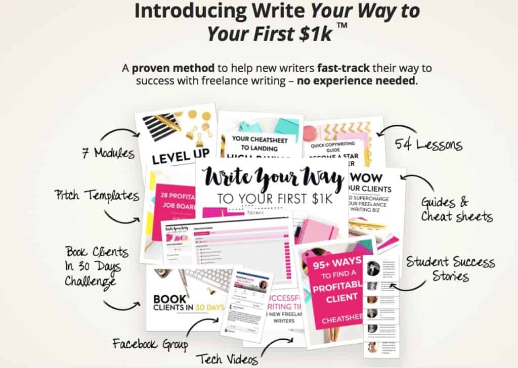 sell short stories online by taking a writing course
