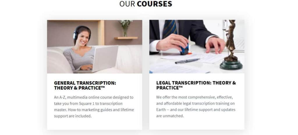 best transcription courses transcribe anywhere