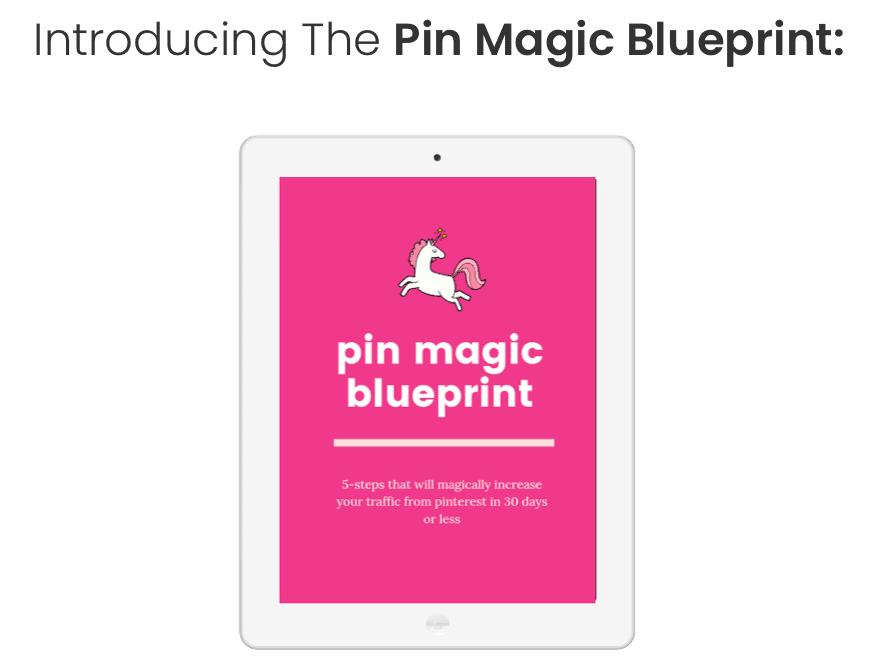 pin magic blueprint