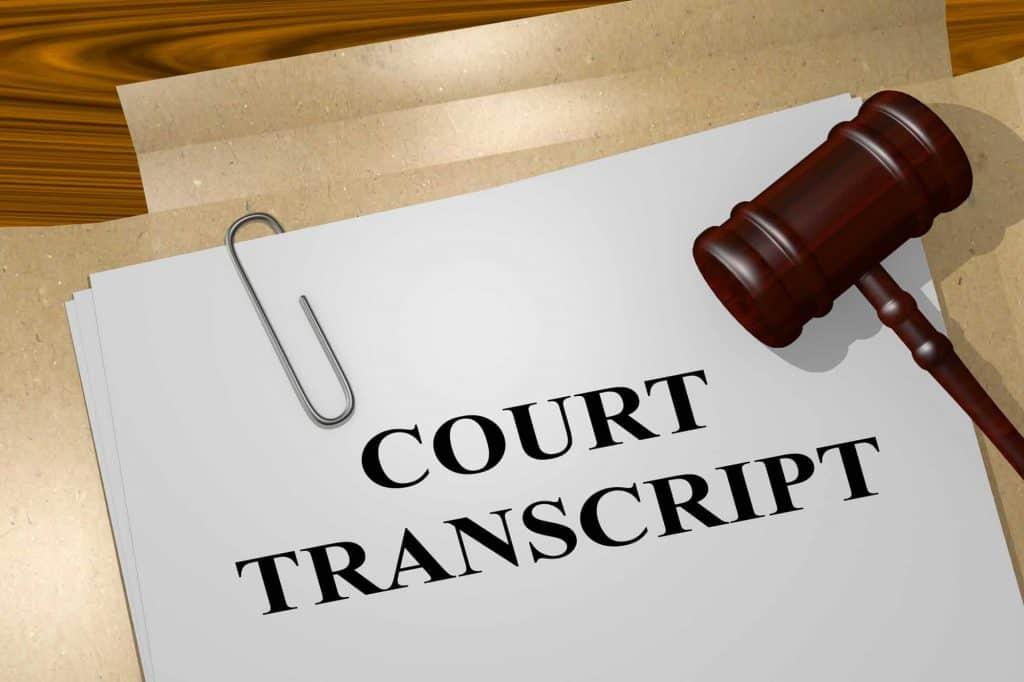 legal transcription training
