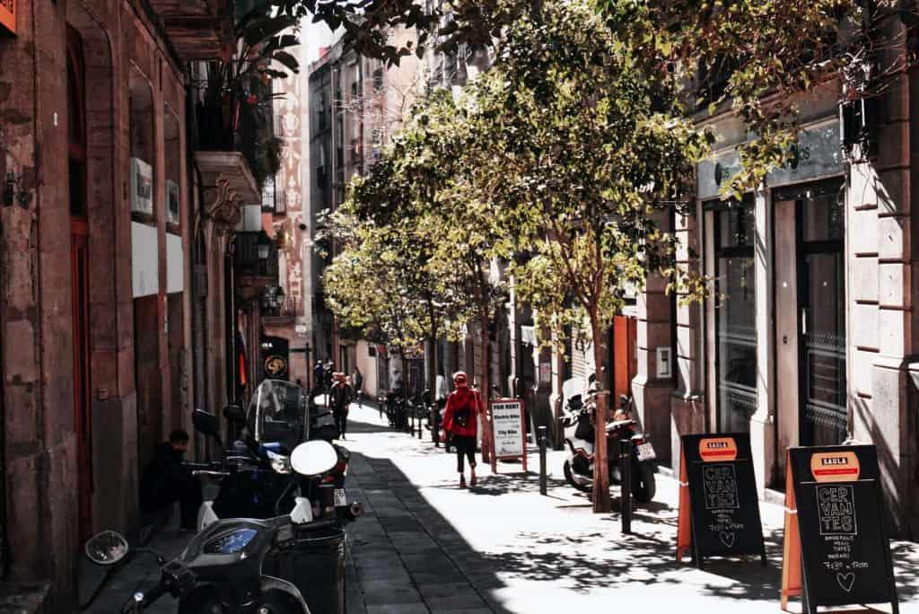 Barcelona digital nomad