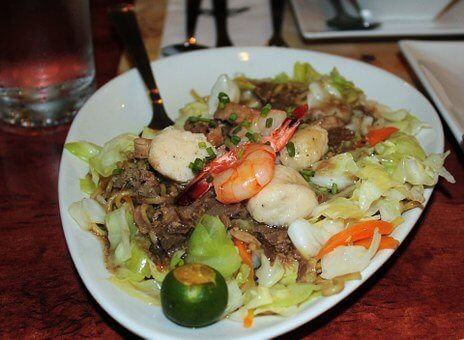 philippines food, panic