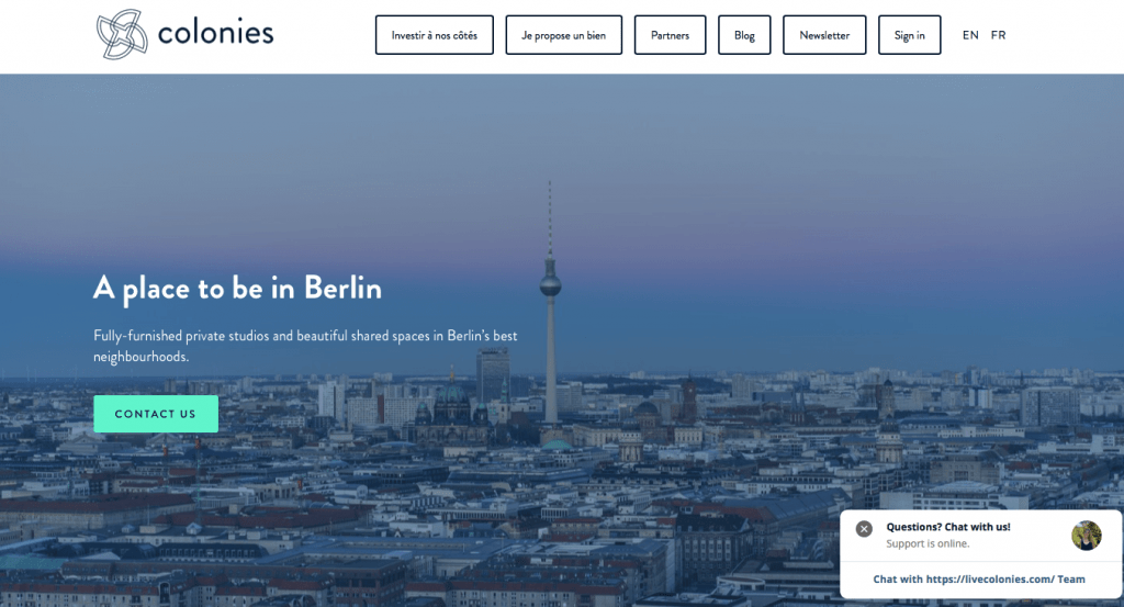coliving in Berlin at colonies