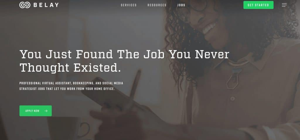 virtual assistant jobs for beginners on Belay