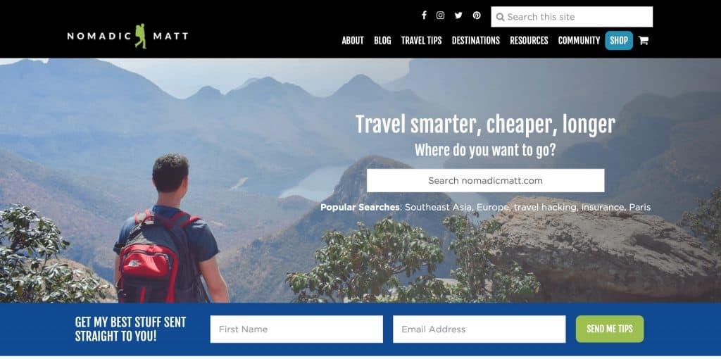 Write For A Digital Nomad Blog Nomadic Matt