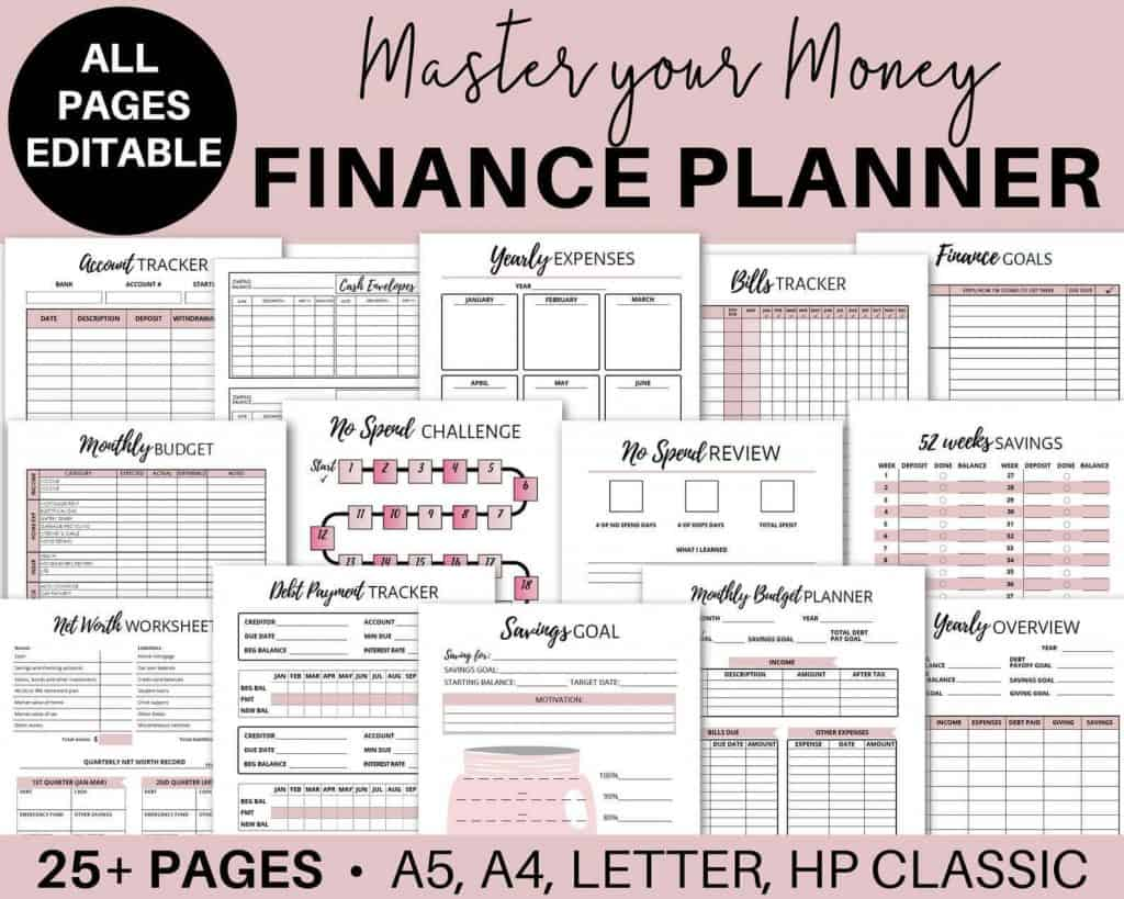 organise your finances with a financial planner