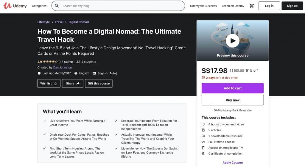 digital nomad course