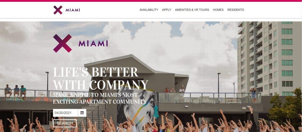 Coliving in Miami at X MIAMI