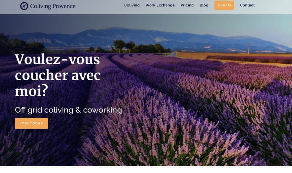 Coliving in France at Provence