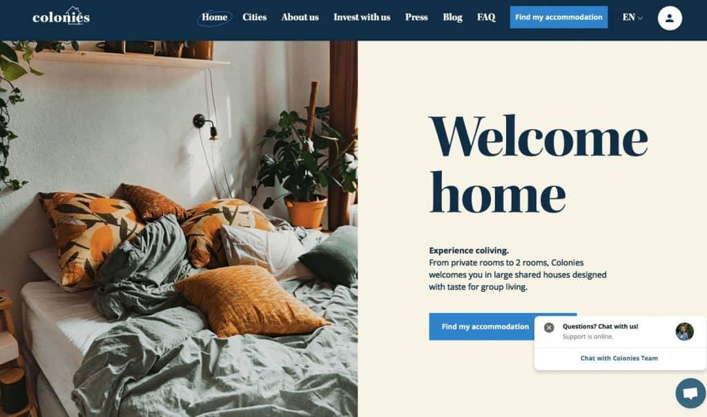 Shared accommodation France