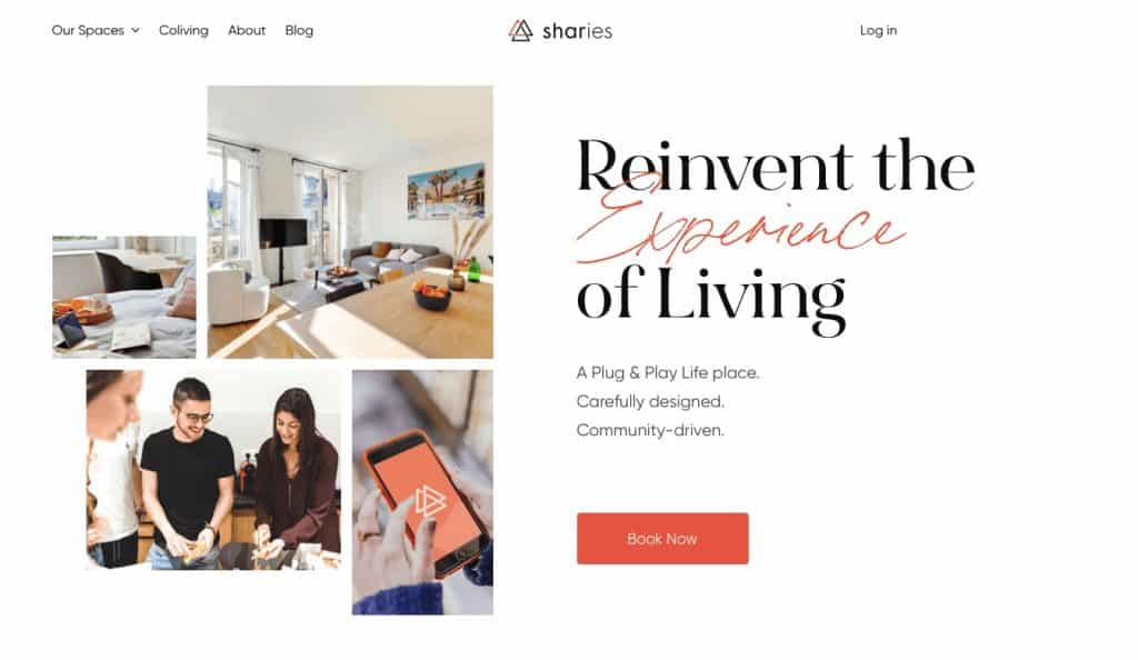 Coliving in France at Sharies
