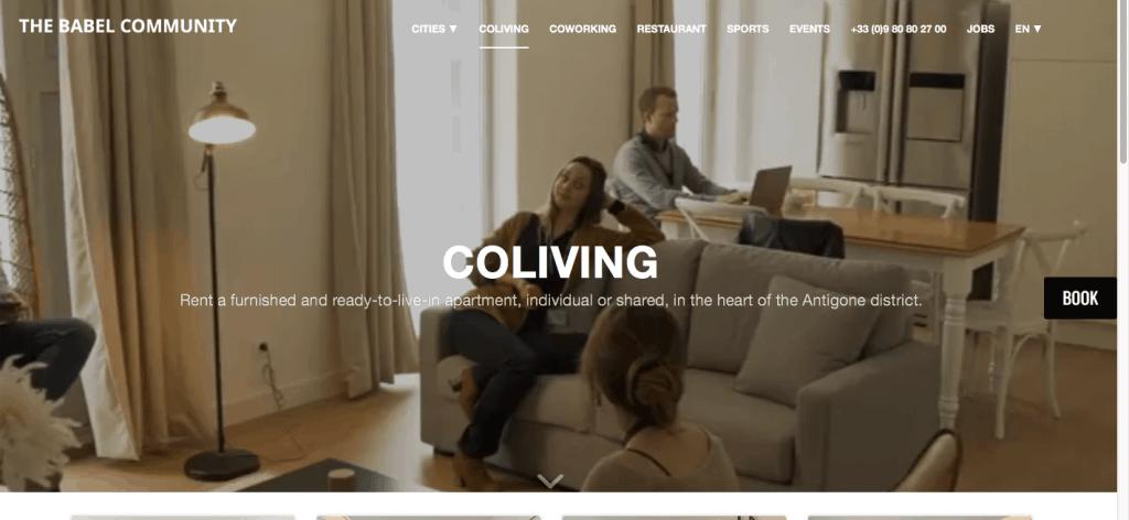 Coliving in France Babel Community