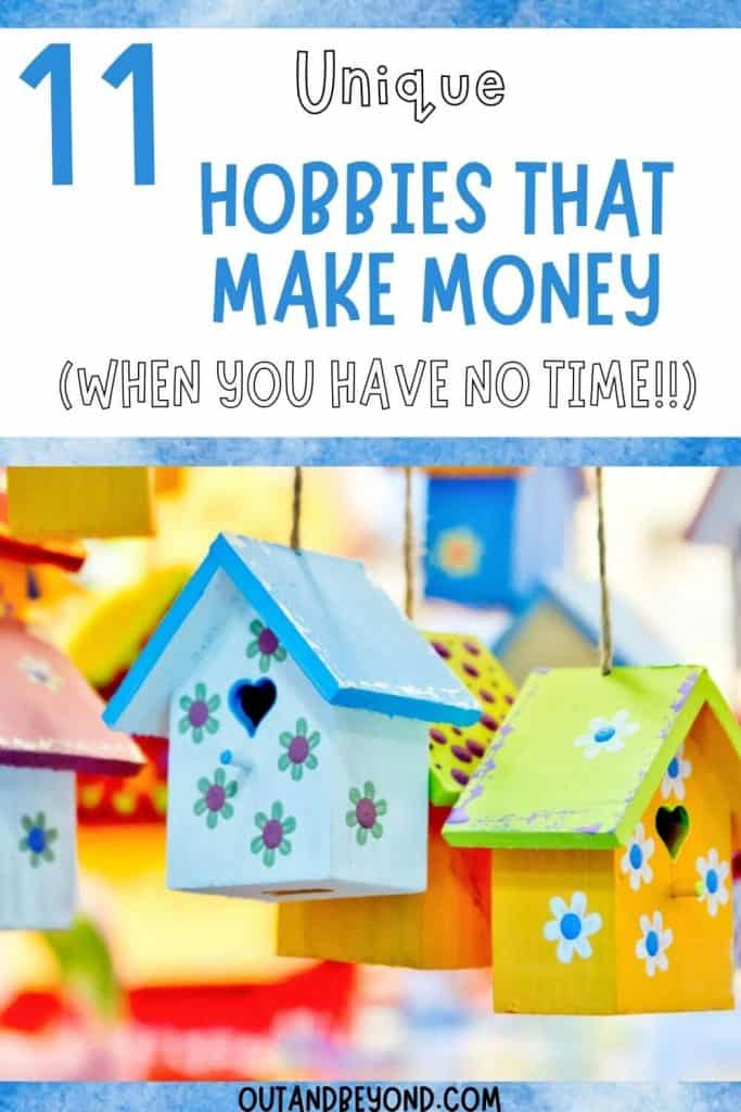 best hobbies that make money so you can stay at home.
