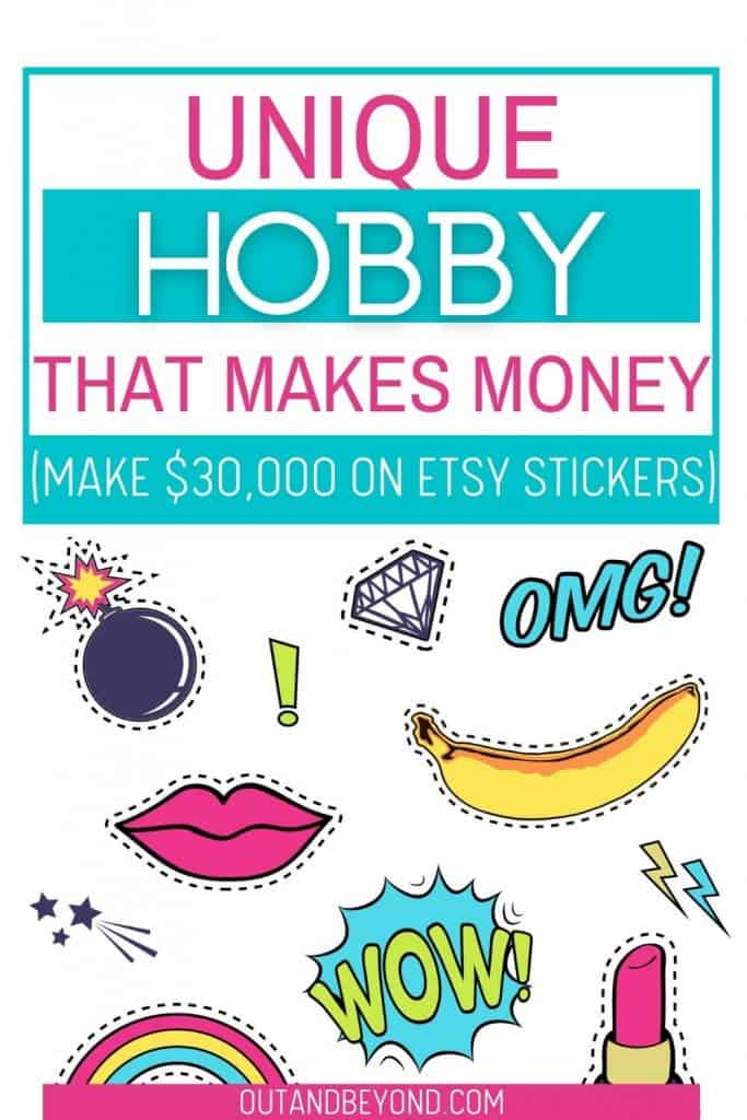 unique hobby that makes money on etsy
