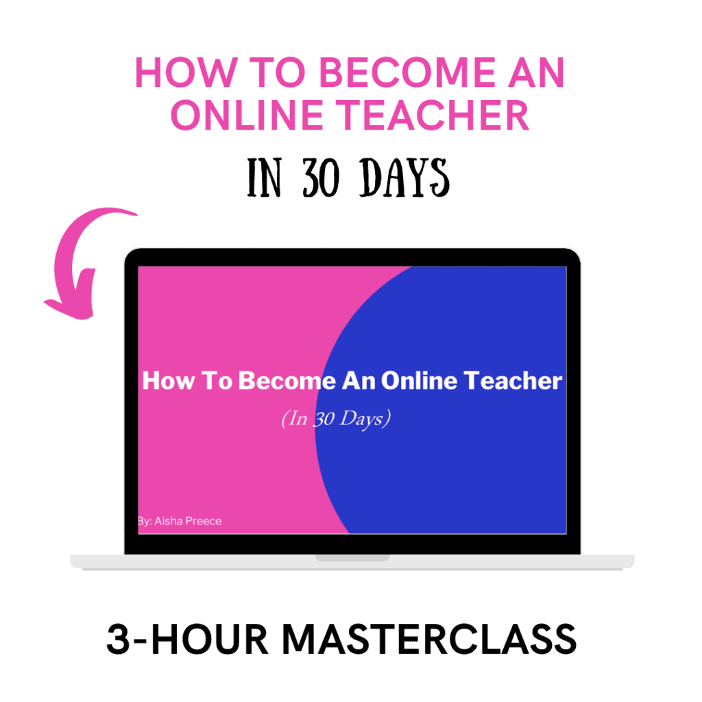 how to become a online teacher