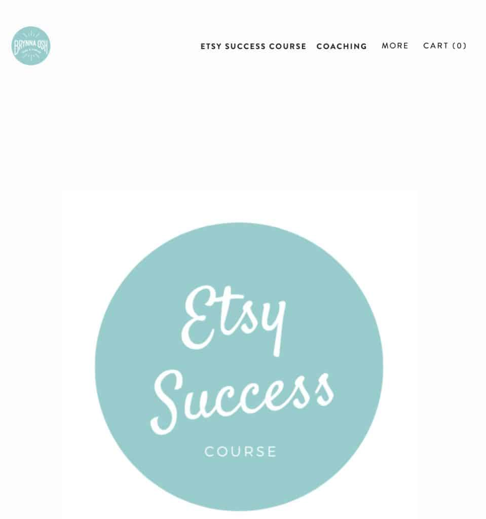Etsy course