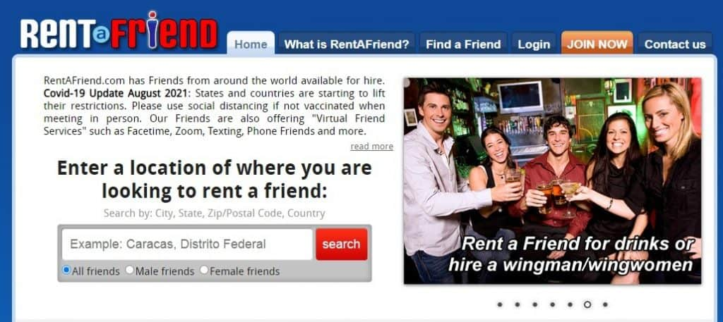 get paid to be an online friend