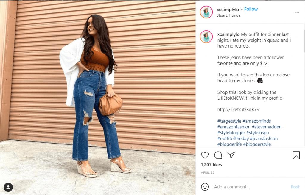 amazon fashion bloggers