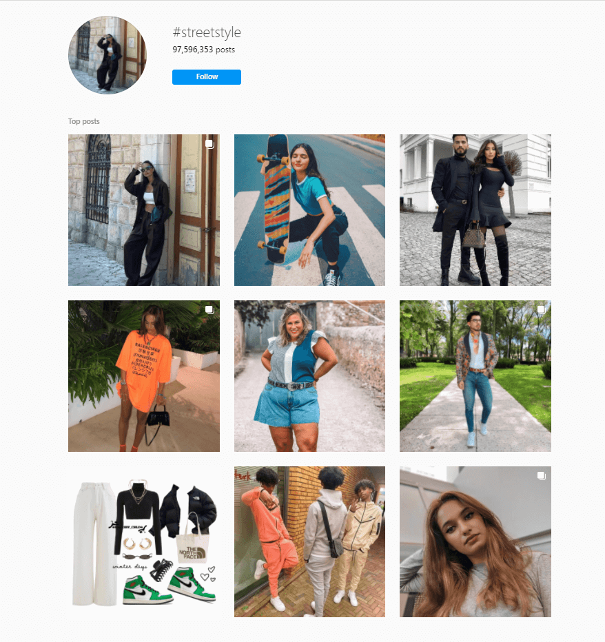best hashtags for style bloggers